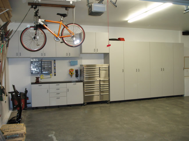 Affordable Los Angles Before Garage Cabinets With Diy